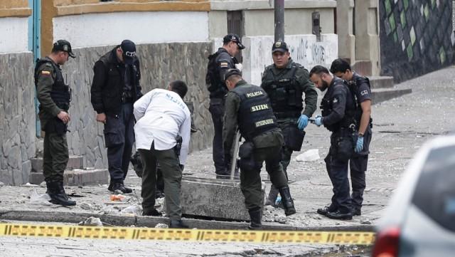 fuerte explosión ocurrida la mañana de este domingo en un barrio de Bogotá