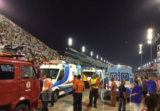 accidente sambodromo