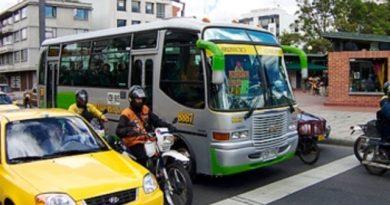 paro de transporte