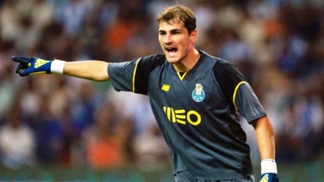 Casillas jugador con mas encuentros en europa