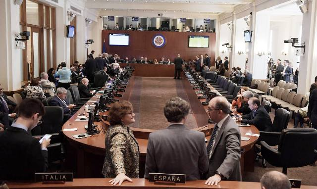 OEA consejo permanente resolucion