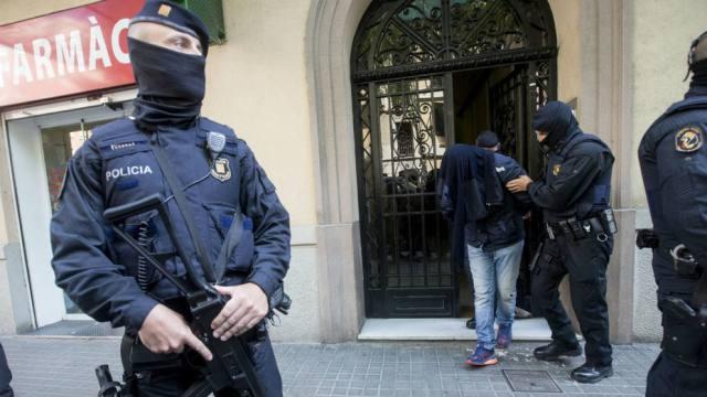 Policía detiene a Yihadistas