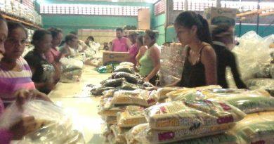 Trabajadores y pueblo organizado de Guárico iniciaron el empaquetado de alimentos