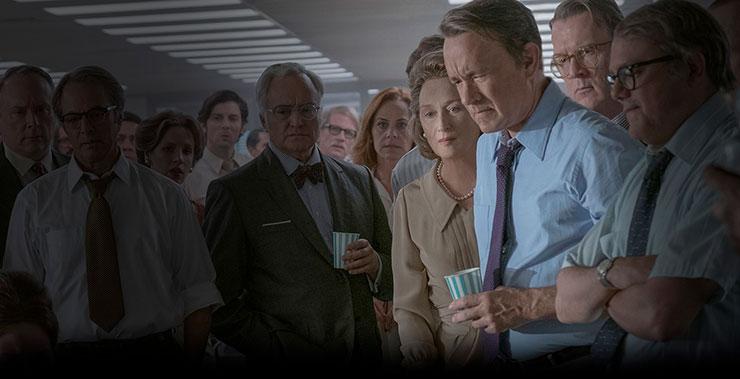 Katherine Graham, interpretada por Meryl Streep; puso por encima el sentido ético que la obligaba a mostrar a la opinión pública cómo se había forjado un engaño; por la legalidad.