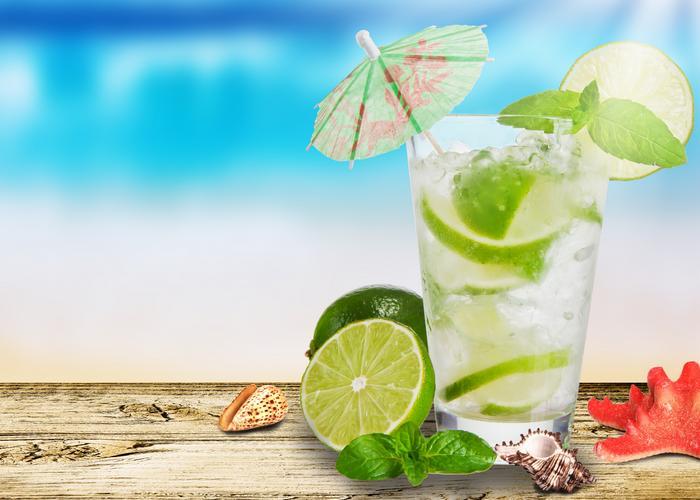 Aguas de verano para combatir la sed