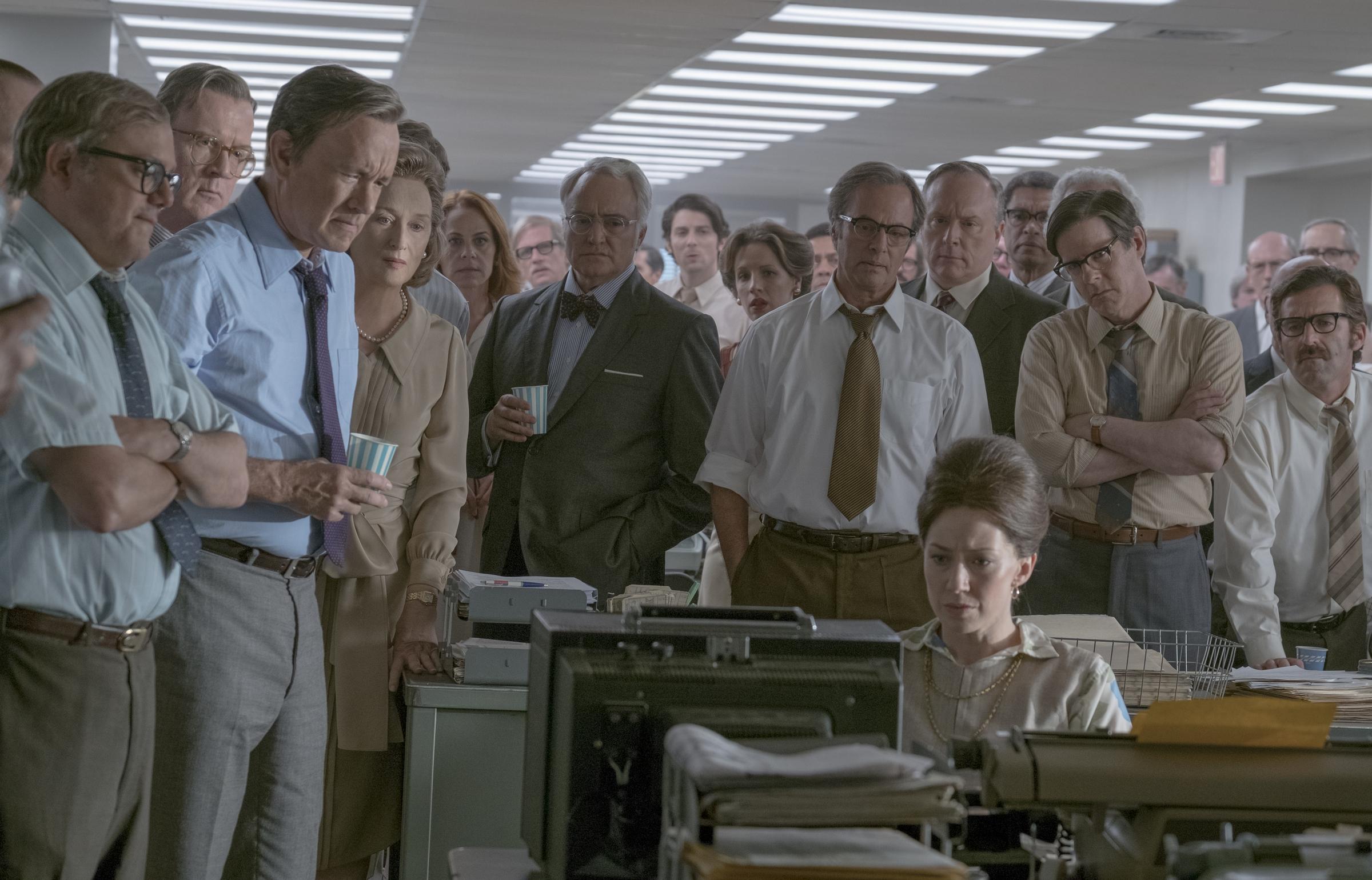 Semblanza del filme 'Los archivos del Pentágono' ('The Post')