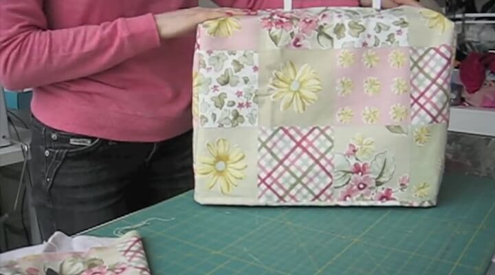 funda para maquina de coser tutorial