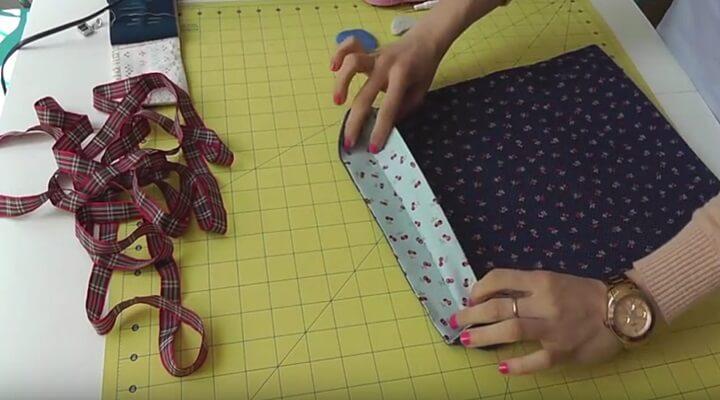 tutorial bolsa multiusos- dar vuelta a la bolsa