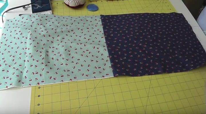 tutorial bolsa multiusos- unir telas