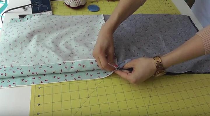 tutorial bolsa multiusos- unir frente con frente