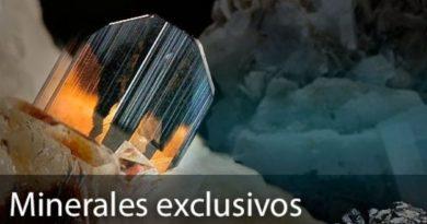 Minerales exclusivos