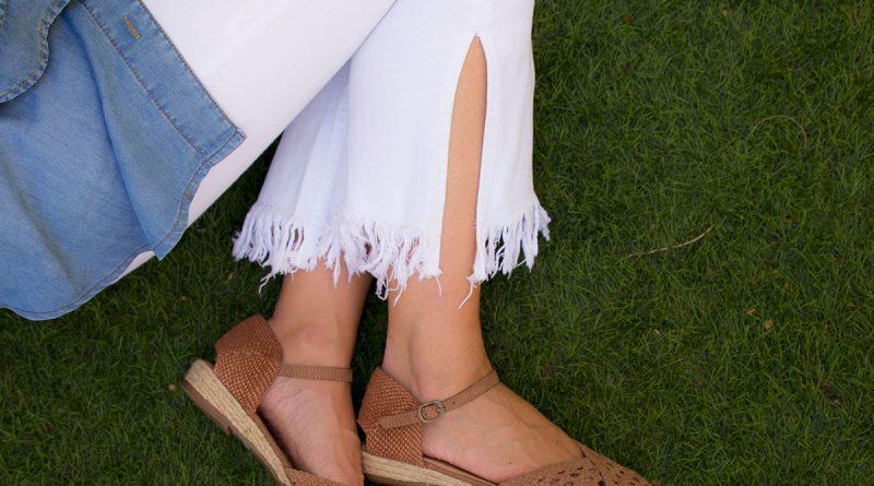zapatos planos marron mujer